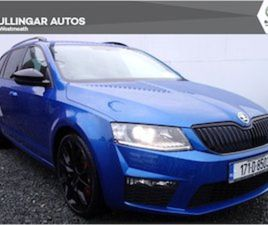 SKODA OCTAVIA COM RS 2.0TDI 184HP 4D FOR SALE IN WESTMEATH FOR €22950 ON DONEDEAL