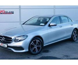 MERCEDES-BENZ E-CLASS E 220D SE WIDE SCREEN NAV FOR SALE IN CARLOW FOR €45,750 ON DONEDEAL
