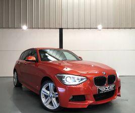 >JUN 2014 BMW 1 SERIES 120D XDRIVE M SPORT 5DR