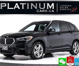 USED 2020 BMW X1 XDRIVE28I, NAV, M-SPORT, HEATED, CAM, CARPLAY