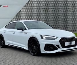 AUDI AUDI RS 5 SPORTBACK CARBON BLACK 450 PS TIPTRONIC 2.9 5DR