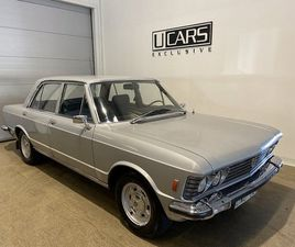 BEGAGNAD FIAT 130 3.2 V6 AUTOMAT 1973, SEDAN