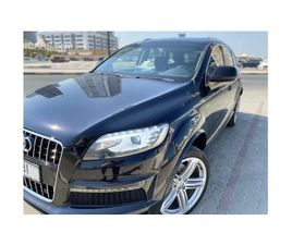AUDI Q7 S LINE SUPERCHARGE FOR SALE: AED 38,500