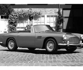 1963 ASTON MARTIN DB4C CONVERTIBLE SERIES 5