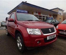 USED 2010 SUZUKI GRAND VITARA 3DR SZ4 SUV 4X4 105,000 MILES IN RED FOR SALE | CARSITE