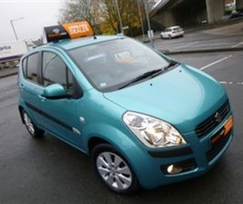 USED 2009 SUZUKI SPLASH 1.2 GLS PLUS 5DR HATCHBACK 51,526 MILES IN TURQUOISE FOR SALE | CA