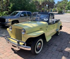 FOR SALE: 1950 WILLYS JEEPSTER IN SARASOTA, FLORIDA