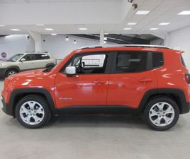 JEEP RENEGADE 1.0 GSE TURBO 120 BHP LIMITED EDITI FOR SALE IN CORK FOR €31,080 ON DONEDEAL