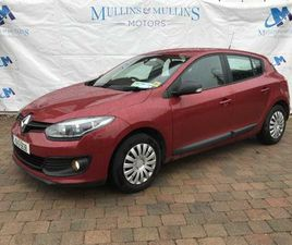 RENAULT MEGANE, 2015 - NCT 1/23 FOR SALE IN CORK FOR €6,750 ON DONEDEAL