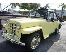 FOR SALE: 1950 JEEP WILLYS IN LANTANA, FLORIDA