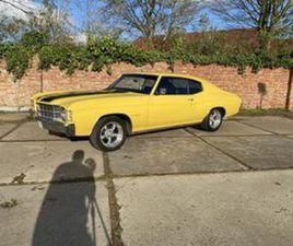 CHEVROLET CHEVELLE MALIBU 350 V8 UIT 15-09-1971 AANGEBODEN DOOR VINTAGE CARS