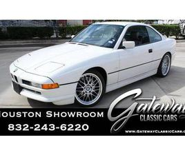 1991 BMW 850I ACTUAL MILES, NUMBERS MATCHING