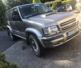 ISUZU TROOPER 3LTR WITH 3.1 ENGINE FITTED FOR SALE IN KILDARE FOR €5000 ON DONEDEAL