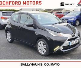 TOYOTA AYGO 1.0 X-PLAY 4DR FOR SALE IN MAYO FOR €8,450 ON DONEDEAL