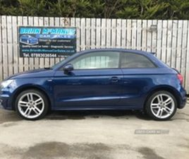 USED 2011 AUDI A1 S LINE TDI HATCHBACK 69,000 MILES IN BLUE FOR SALE | CARSITE