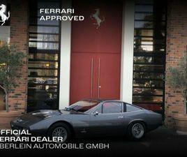 FERRARI 365 GTC/4 FERRARI CLASSISCHE ZERTIFIKAT
