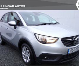 OPEL CROSSLAND X SC 1.6CDTI 99PS 5D FOR SALE IN WESTMEATH FOR €17950 ON DONEDEAL