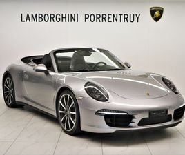 PORSCHE 911 CABRIO CARRERA 4S PDK