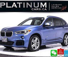 USED 2017 BMW X1 XDRIVE28I, NAV, M-SPORT, HEATED, CAM, SUNROOF