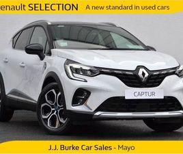 RENAULT CAPTUR E-TECH EDITION PHEV 160BHP AUTO PL FOR SALE IN MAYO FOR €32,570 ON DONEDEAL