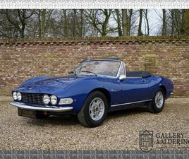 FIAT DINO SPIDER 2000 WITH ONLY 81000 KM FROM NEW