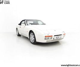 A COLLECTORS PORSCHE 944 S2 CABRIOLET WITH AN ASTONISHING 12,379 MILES FROM NEW
