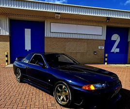 STUNNING PEARL BLUE TH1 R32GTR - SUPERB