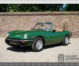TRIUMPH SPITFIRE 1500 ONLY 3.966 MILES, FACTORY NEW CONDITION!! OVERDRIVE