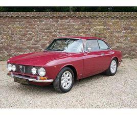 ALFA ROMEO 2000 GTV ROSSO PRUGNA, FULLY RESTORED