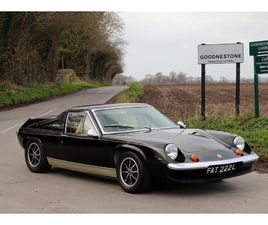 LOTUS EUROPA TWIN-CAM SPECIAL JPS, 5 SPEED SPECIAL, 1973.