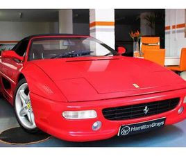 1998 (S) FERRARI F355 F1 SPIDER. FINISHED IN ROSSO CORSA WITH NERO HIDE. ONLY 28,710 MILES