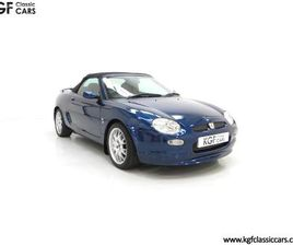 AN ASTONISHING MGF FREESTYLE SPECIAL EDITION WITH JUST 15,337 MILES FROM NEW