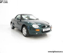AN ASTONISHING ONE OWNER MGF 1.8I VVC WITH JUST 5,136 MILES FROM NEW.