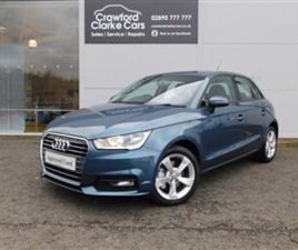 USED 2017 AUDI A1 1.6 SPORTBACK TDI SPORT 5D 114 BHP HATCHBACK 46,927 MILES IN BLUE FOR SA