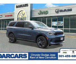 BRAND NEW BLUE COLOR 2021 DODGE DURANGO GT FOR SALE IN NEW CARROLLTON, MD 20784. VIN IS 1C