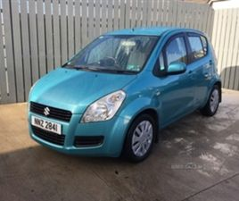 USED 2009 SUZUKI SPLASH GLS HATCHBACK 103,000 MILES IN BLUE FOR SALE | CARSITE