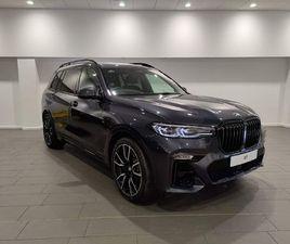 BMW X7 3.0 30D M SPORT AUTO XDRIVE (S/S) 5DR