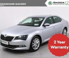 SKODA SUPERB STYLE 1.6 TDI 120BHP 4DR FOR SALE IN GALWAY FOR €22495 ON DONEDEAL