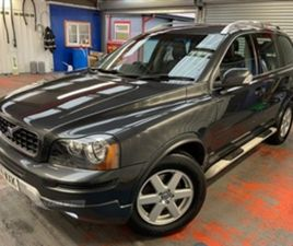 USED 2014 VOLVO XC90 2.4 D5 AUTOMATIC 200 BHP 7 SEATER MINT JEEP NOT SPECIFIED 51,000 MILE