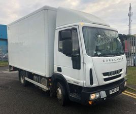 IVECO EUROCARGO 75E160 E5 2013 13FOOT BOX FOR SALE IN DOWN FOR €1 ON DONEDEAL