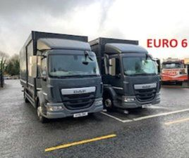 2016 DAF LF 180 14/16T E6 4X2 D/CAB 20FT BOX TR FOR SALE IN LOUTH FOR €1 ON DONEDEAL