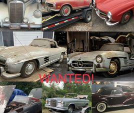 VIELLE MERCEDES 1930-1972 TOUTE CONDITION RECHERCHÉE! | CLASSIC CARS | QUÉBEC CITY | KIJIJ