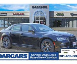 BRAND NEW BLACK COLOR 2021 CHRYSLER 300 S FOR SALE IN NEW CARROLLTON, MD 20784. VIN IS 2C3