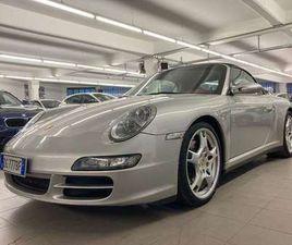PORSCHE 997 911 CARRERA 4S CABRIOLET CHRONO SPORT SCARICHI