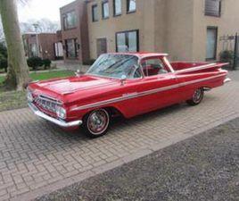 CHEVROLET EL CAMINO V 8 UIT 22-06-1959 AANGEBODEN DOOR CLASSIC CARS