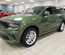 BRAND NEW GREEN COLOR 2021 DODGE DURANGO GT FOR SALE IN MEADVILLE, PA 16335. VIN IS 1C4RDJ