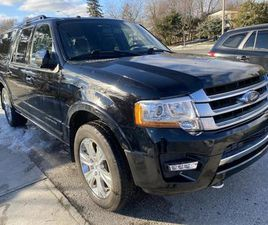 USED 2017 FORD EXPEDITION MAX 4WD 4DR PLATINUM . EL