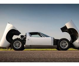LAMBORGHINI MIURA P400 S 1971 - UK | GIELDA KLASYKÓW