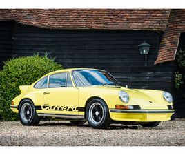 PORSCHE 911 2.7 RS TOURING 1973 - UK | GIELDA KLASYKÓW