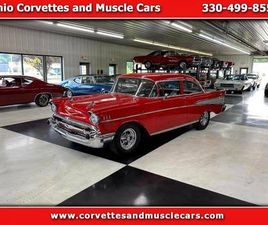 1957 CHEVROLET BEL AIR AMERICAN MUSCLE CAR